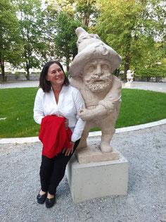 Vase Mirabellgarten