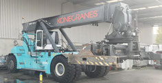used reachstacker Konecranes washing-place