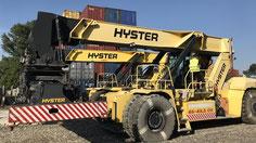gerbeur de conteneurs Hyster a Odessa