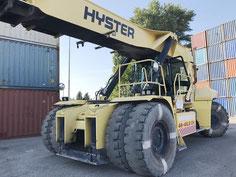 used reachstacker Hyster Odessa Ucraine