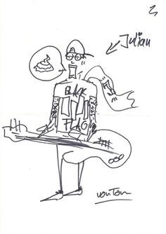 Julian gemalt von Tom