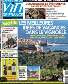 Revue des vins de France Hors série oenotourisme