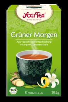 Yogi Tee Grüner Morgen - Ayurvedische Kräuter und Gewürzteemischung