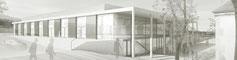 Neubau Sporthalle Pfullingen, 2.Preis