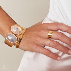 Armband moonstone