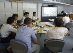 東京都獣医師会とスカイプ会議