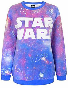 Star Wars Pullover Damen in lila