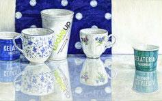 Sabine Christmann, Malerei, painting, 2018