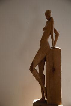 o.T., Kirsche, 12cm x 20cm x 64cm, 2004