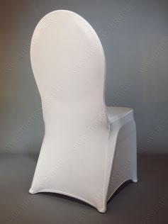 Stuhlhussen, Stuhlbezüge Stretch Verleih, mieten ab 1,80€ /St. inkl. Reinigung.