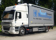 LKW Spedition Transporte Neundlinger Josef Oberkappel Bezirk Rohrbach