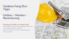 Feng Shui für Neubau Umbau Renovierung