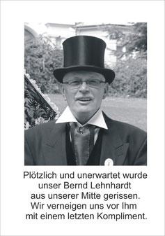 Nachruf für Bernde Lehnhardt