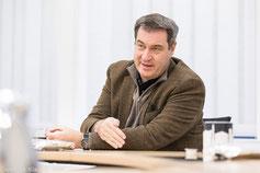 Fotojournalist München: Interviewbegleitung Markus Söder