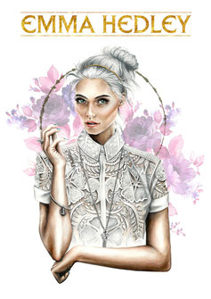 Osseus Designs Crown Collection Illustration For Emma Hedley Jewellery