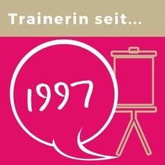 Trainerin seit 1979