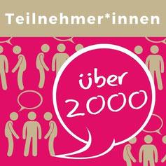 Über 2000 Trailnehmer und Teilnehmerinnen