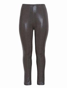 Plus Size Baumwoll Leggings, sexy Passform
