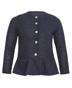 blaue Damen Strickjacke XXl , Damenjacke in übergröße