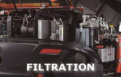 Kit filtration moteur et hydraulique Kubota