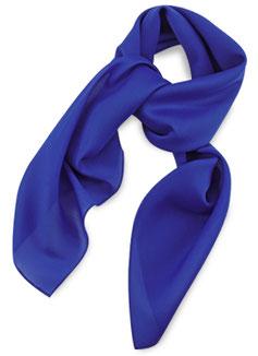 Dames Sjaal Kobalt Polyester
