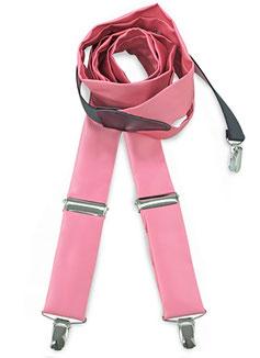 Bretels polyester Roze