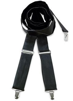 Bretels Zwart Polyester
