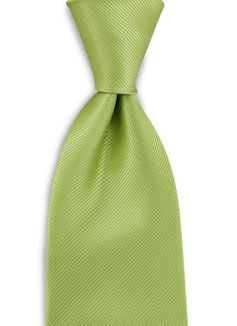 Stropdas Polyester Lime Groen