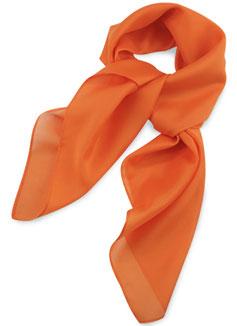 Dames Sjaal Oranje Polyester