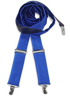 Bretels Kobalt Blauw Stof