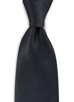 Stropdas Zwart Polyester