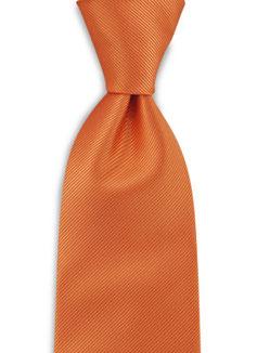 Stropdas Polyester Oranje