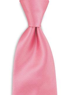 Stropdas polyester Roze