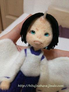羊毛フェルト 人形 ドール 男の子 needlefelting doll