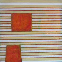 Nr. 2010-HO-008, 40 x 40 cm, Acryl auf MDF