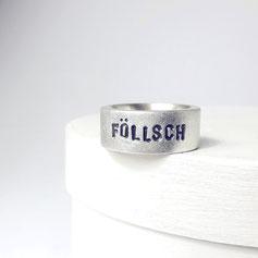 Föllsche Kollektion Silberring breit Föllsch Fulda