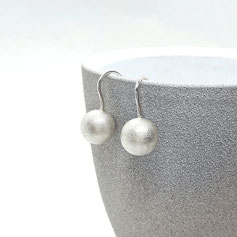 Ohrringe Silberkugel