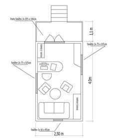 Plan bureau roulotte