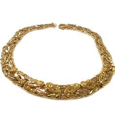 Collana modello bizantina in oro 18kt