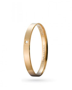 Fedina Unoaerre Gelsomino in oro giallo con diamante