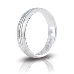 Fedine in argento Unoaerre Ibisco in argento AF288