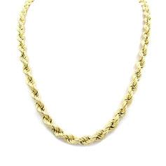 collana in oro fune