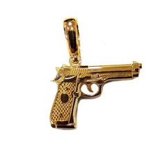 Ciondolo Pistola in oro giallo  IS1579DF