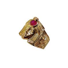 Anello Sfinge in oro 18Kt gr. 11
