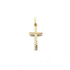 croce in oro giallo