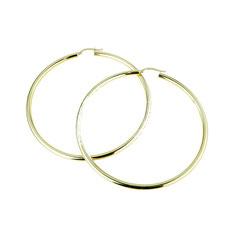orecchini cerchio oro