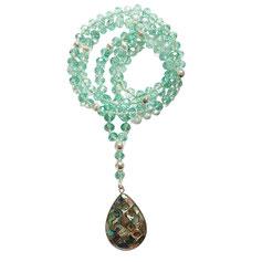 Mala, Anahata-Mala, Gebetskette, Duft Mala, Rudraksha