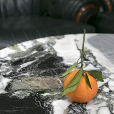Carara marble looks elegant as shower room wall and floor cladding