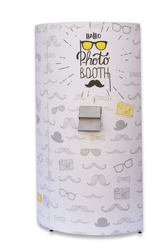 Hallophotobooth in stuttgart photobooth fotobox fotokabine videobox videobooth hochzeit event entertainment betriebsfeier spass party  säule