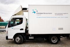 Fuso Kühllieferwagen Frischlogistik